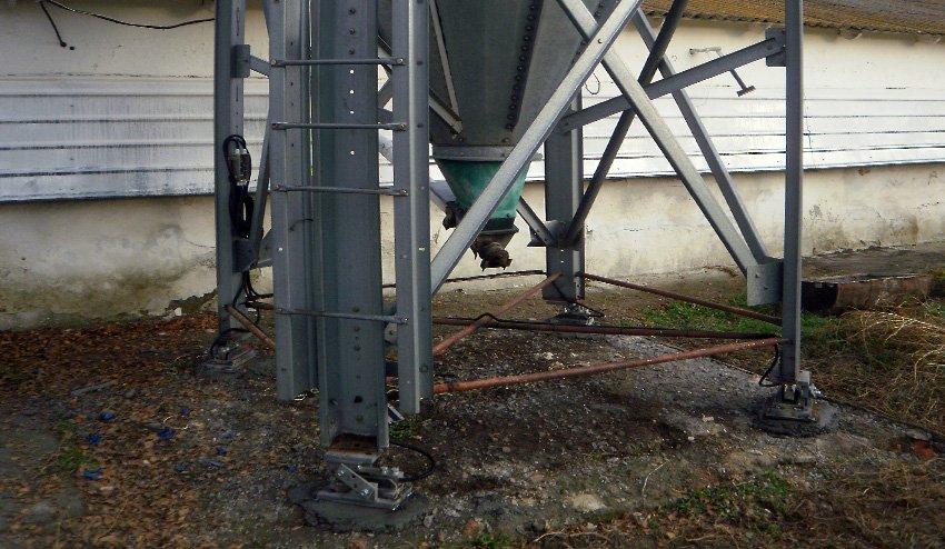 Модернизация весов бункерных