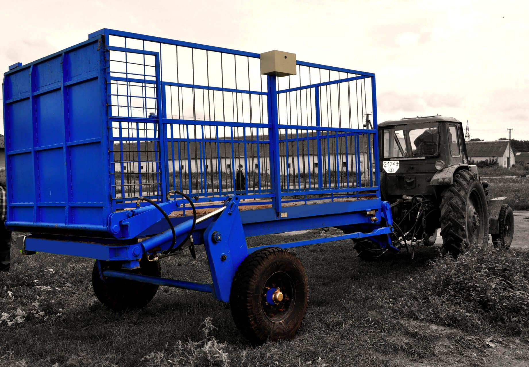 прицеп для перевозки скота