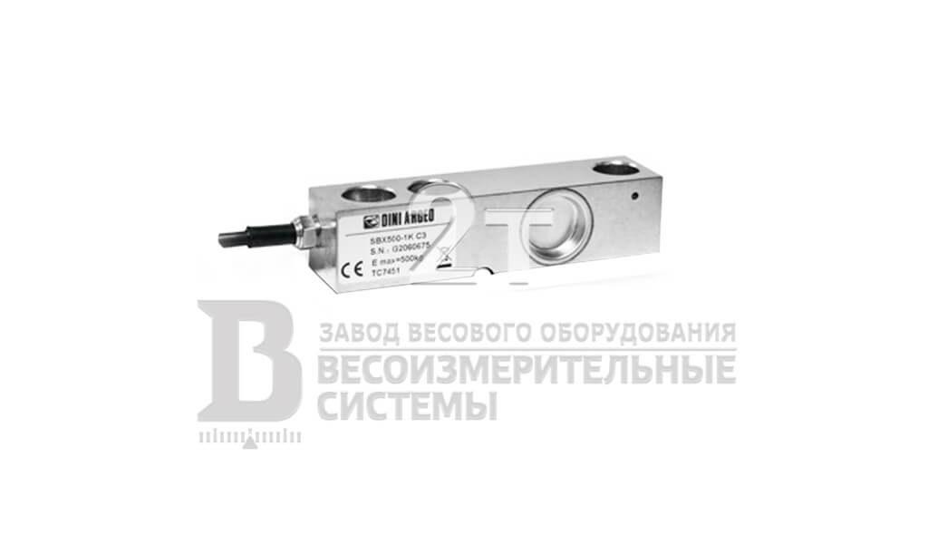 Тензодатчик Dini Argeo SBX-1K-C3-2t