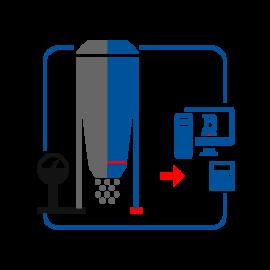 Модернизация бункерных весов из механических в тензометрические